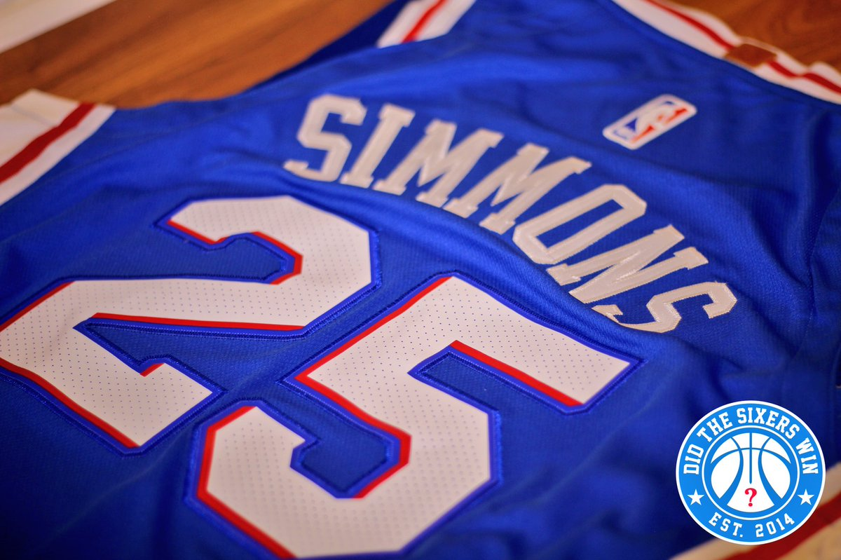 RETWEET for a chance to win a Simmons jersey or a t-shirt of your choice  from  CenterCityThrds (http   bit.ly CC Threads ) 2 winners randomly drawn  Monday ... 01aceb8e1
