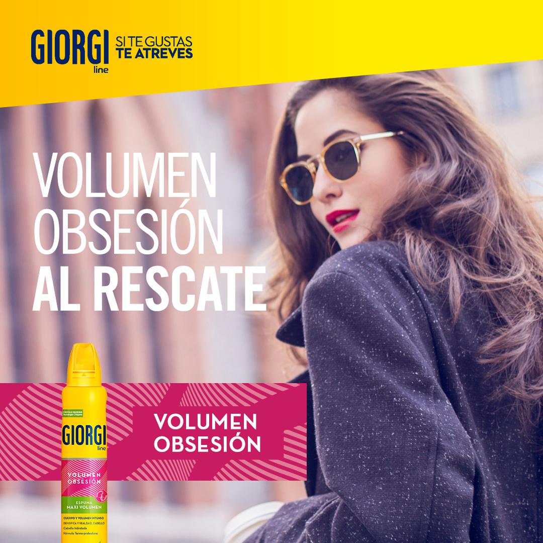 Realza tus peinados con la ayuda de la gama Volumen Obsesión y… ¡presume de cuerpo y volumen! https://t.co/0SzKmHsOQA