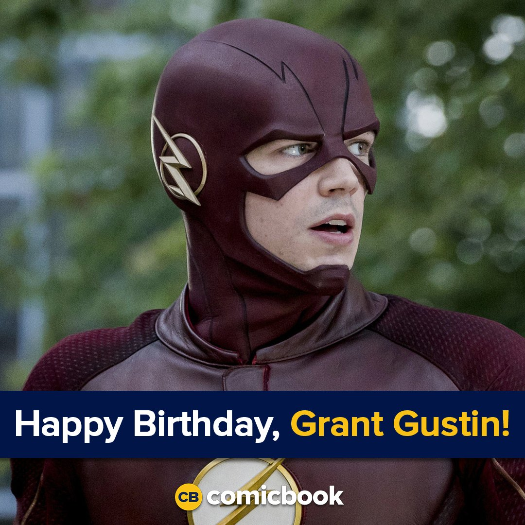Happy birthday to star Grant Gustin!