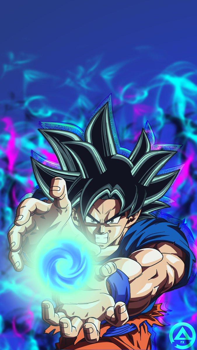 A R C Fx On Twitter Goku Ultra Instinct From Dragonball Super