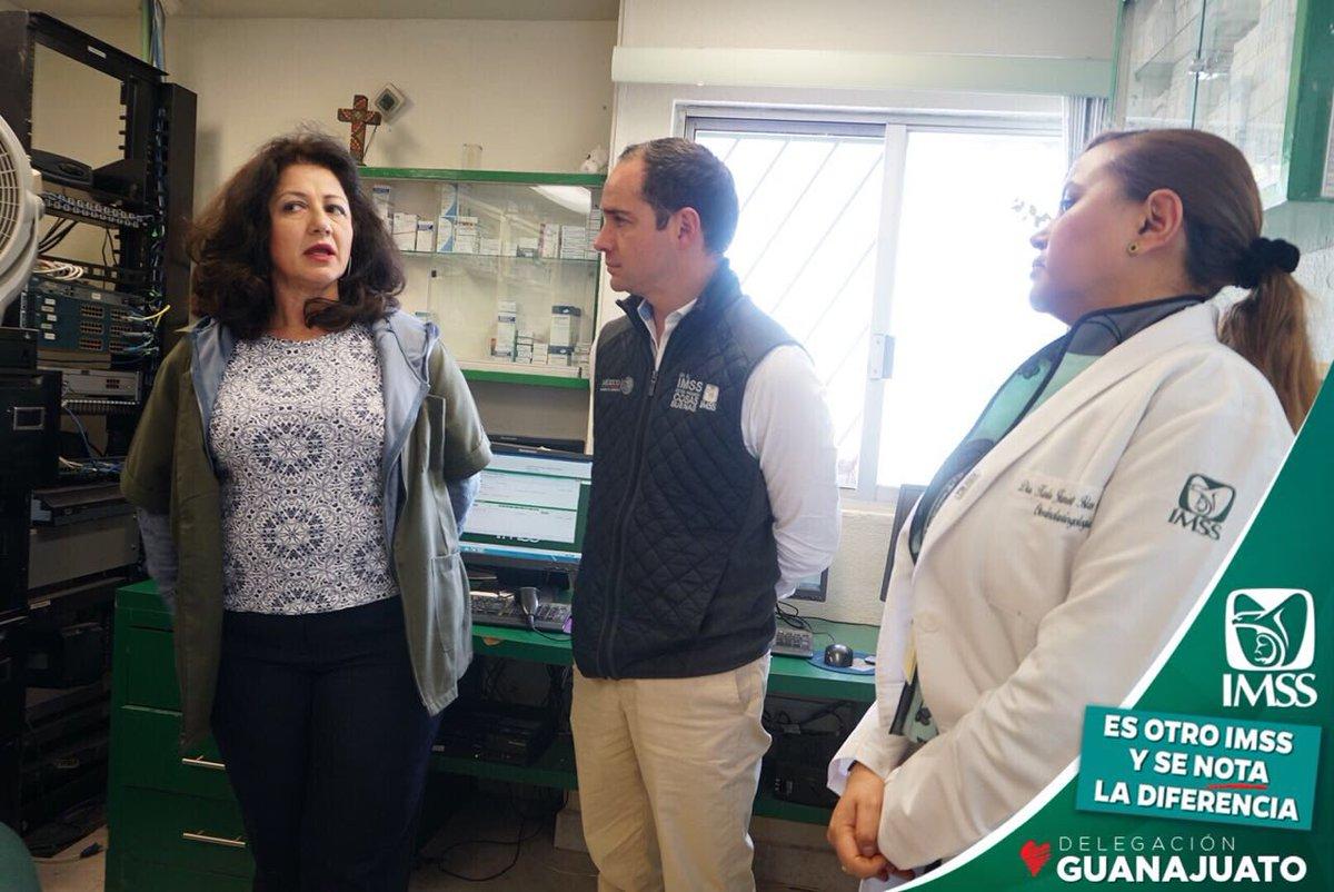 RT @SASantibanez: Estamos en visita de supervisión en la UMF 24 de Cd. Manuel Doblado https://t.co/hV7lnOYgt5