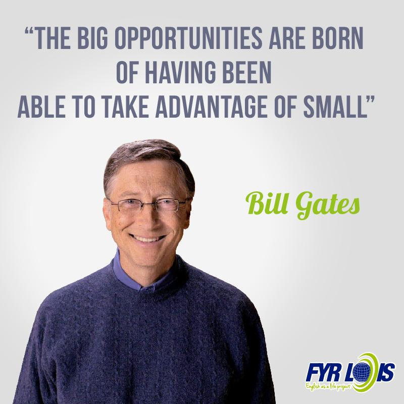 #Quoteoftheday by William Henry Gates III. He is an American business magnate, investor, author, philanthropist, and co-founder of the Microsoft Corporation along with Paul Allen.  #FyrLois #Quote #Quotes #Quotetoliveby #Motivationquote #Felizdia #11ENE <br>http://pic.twitter.com/lQ8vIjIVFw