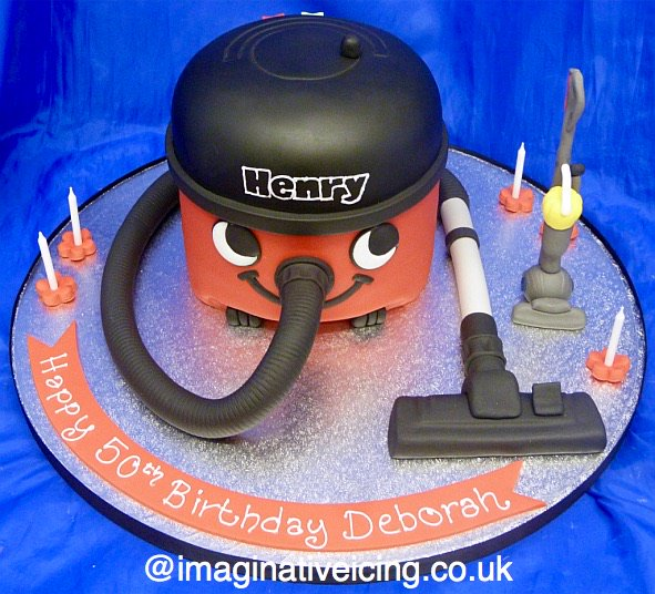 Imaginative Icing On Twitter Henry Hoover 3d Birthday Cake With