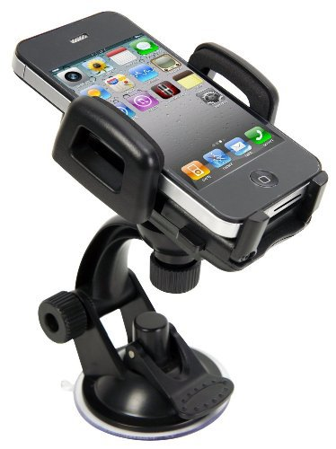 HD Zone's IBRA® High Quality Windshield Car Mount Holder for iPhone 4S 4 3GS...