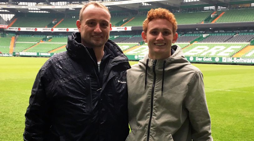 The making of Josh Sargent: A father&#39;s view of his son&#39;s USMNT rise, farewell for Europe with @werderbremen_en:   http:// fft.sm/xqUYGp  &nbsp;    (via @cboehm)  #USMNT <br>http://pic.twitter.com/RirBq4KeCS