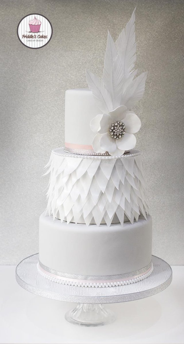 Friddles Cakes On Twitter Turning 40 And 50 With Style Elegance A Rose Gold Sequin 40th Birthday 1930s 50th Inspired Cake
