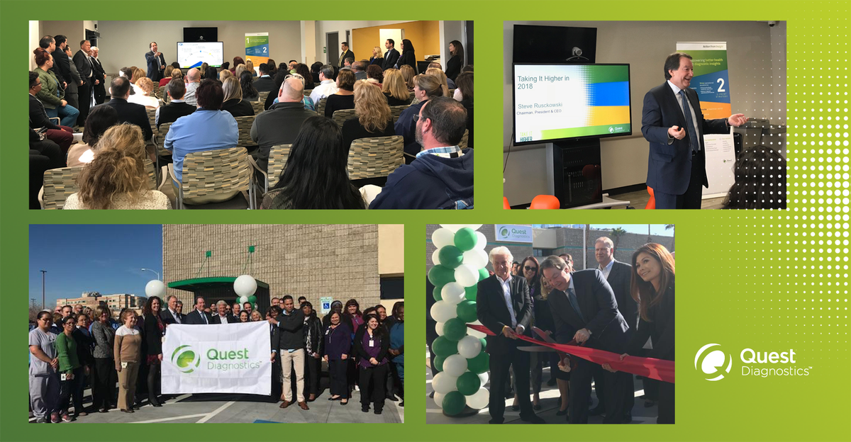 Quest Diagnostics On Twitter Our Ceo Steve Rusckowski And Cfo Mark