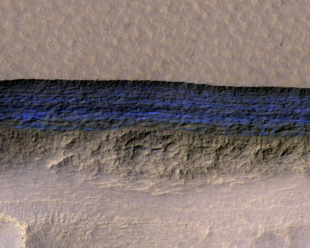 What secrets are buried in Martian ice?  @NASA's Mars Reconnaissance Orbiter reveals eight sites that could provide crucial resources for future astronauts: https://t.co/C2geNTjKc7 #ThursdayThoughts