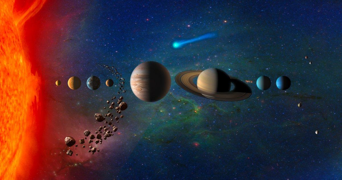C'est la pagaille dans notre système solaire et ce serait la faute de Jupiter et Saturne https://t.co/orn12wRdet