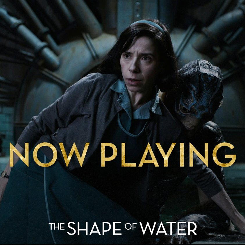 Click here to see where #TheShapeofWater...