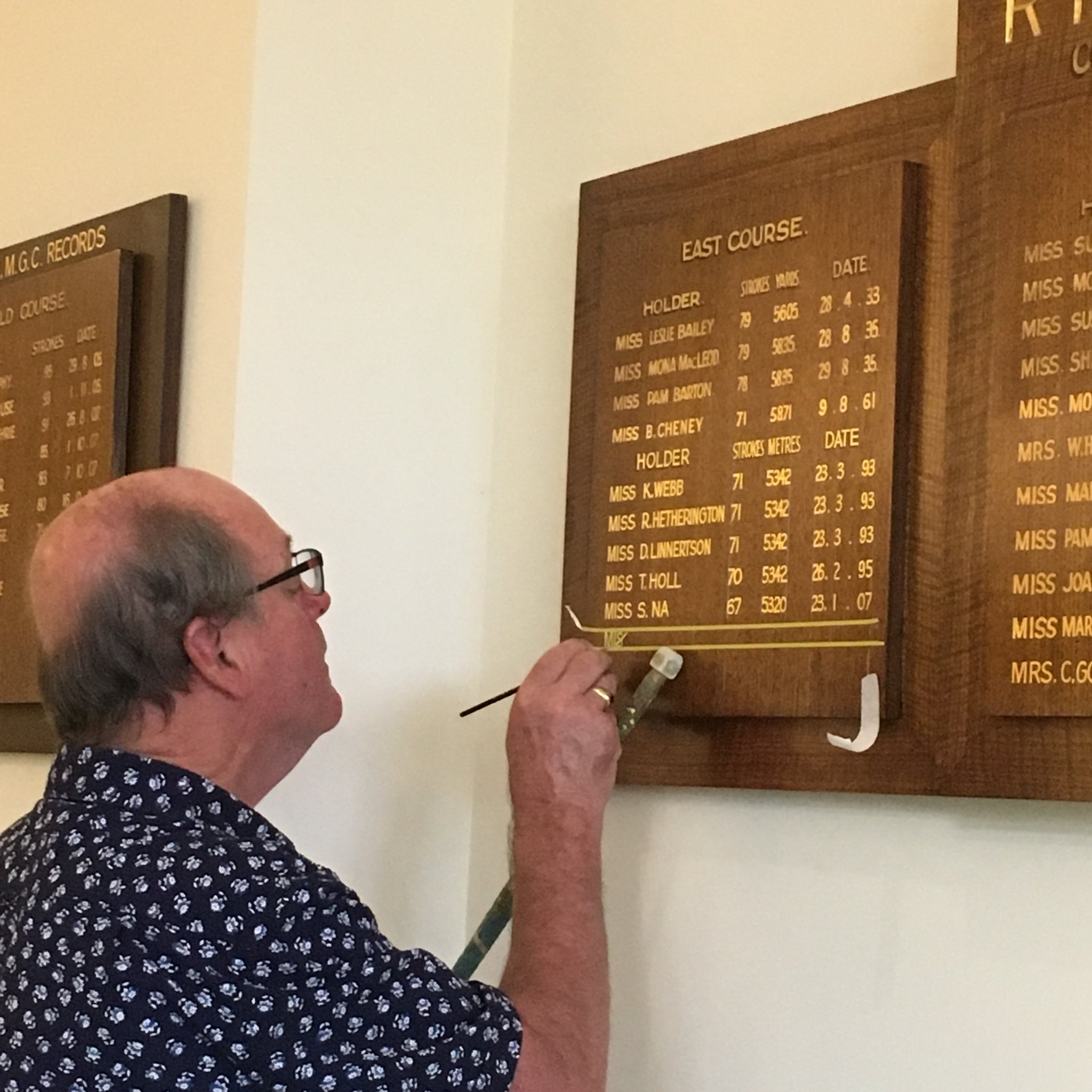 Amota On Twitter Its Offical Yuka Yasuda Has Had Her Name Holder 5825 Added To The Royal Melbourne Golf Club East Course Records Board Tournament