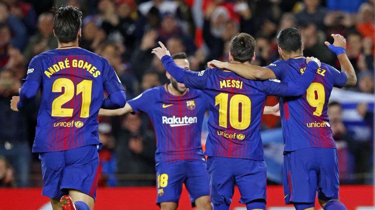 Chấm điểm kết quả Barcelona 5-0 Celta Vigo