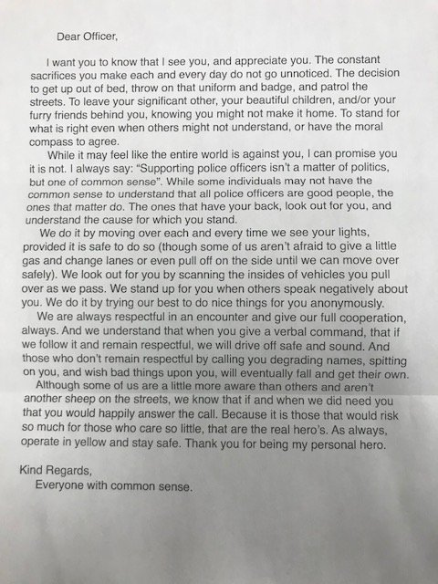 Prince William Pd On Twitter Anonymous Letter Thank You To The