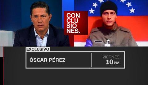 Resultado de imagen para FERNANDO DEL RINCON ENTREVISTA A OSCAR PEREZ