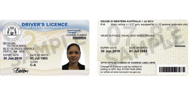 driver license class c australia