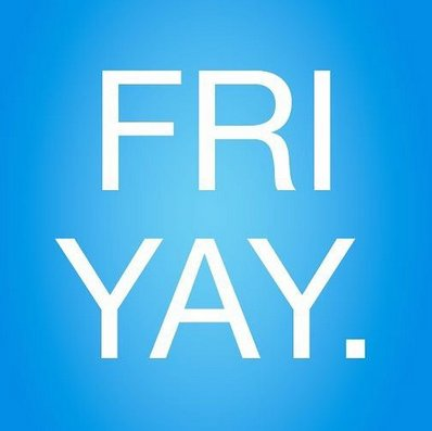 Because it's the #Weekend #SocialMedia #Marketing #Business #Fun #Friends #Laugh #Smile #Live https://t.co/IiOkI2yZLd