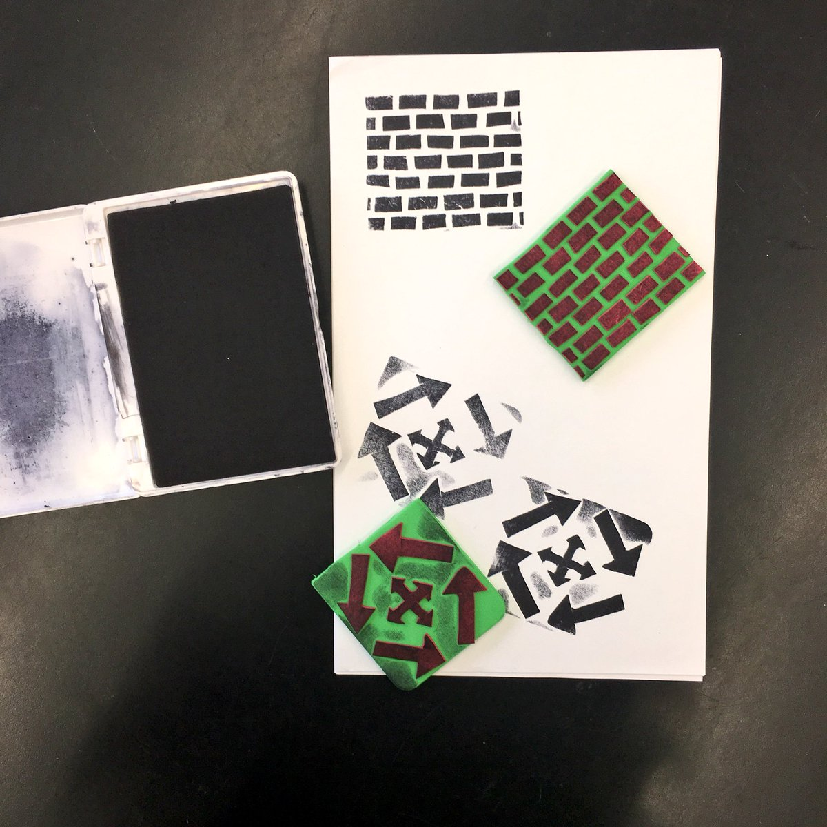 Making a stamp with balsa foam youtube