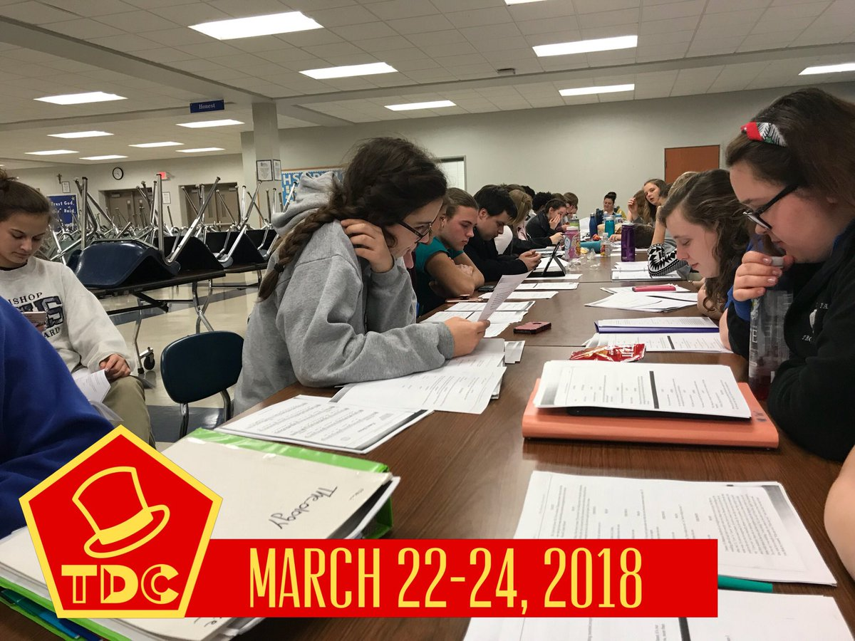 test Twitter Media - Successful read through with the cast of The Drowsy Chaperone this evening. Be sure to witness the Tony-Award winning musical in March! https://t.co/H46uOyWLc1