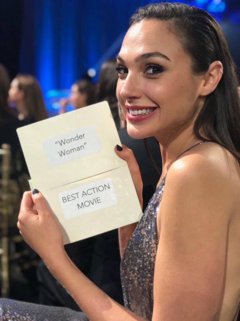 Wonder Woman wins Best Action Movie