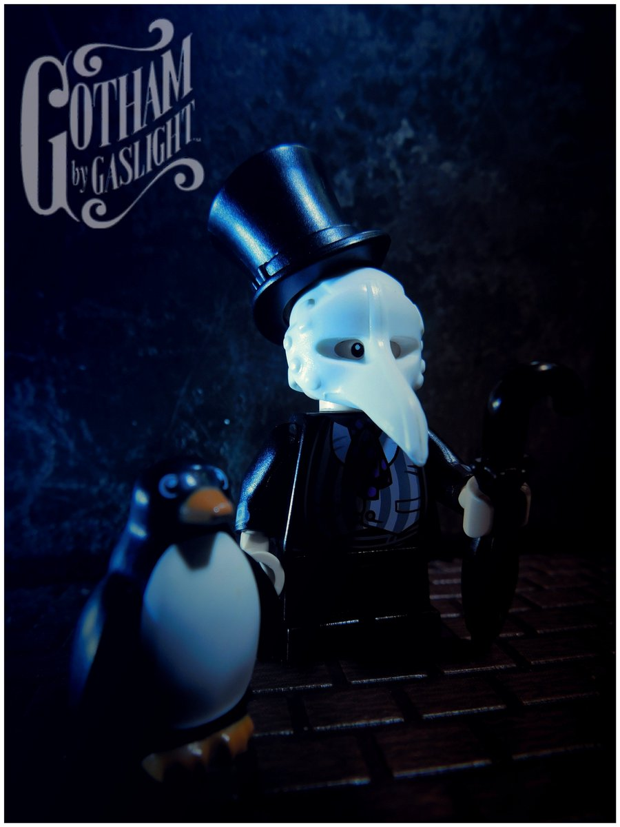 #Geek Awesome of the Day: #LEGO 'The Penguin', #Gotham by Gaslight via @KlyphRa #SamaGeek