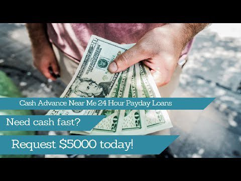 cash advance payday loans near me