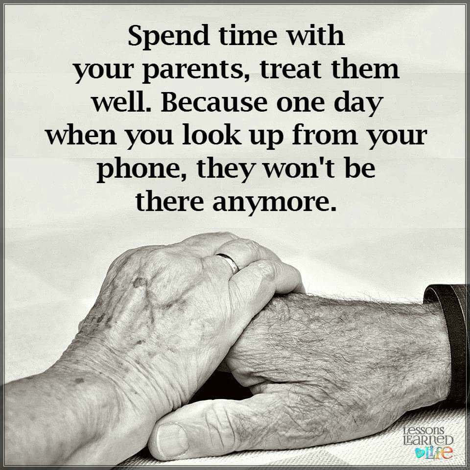 """Spend Time With Your Wife Quotes: Fatima Karim On Twitter: """"Spend Time With Your Parents And"""