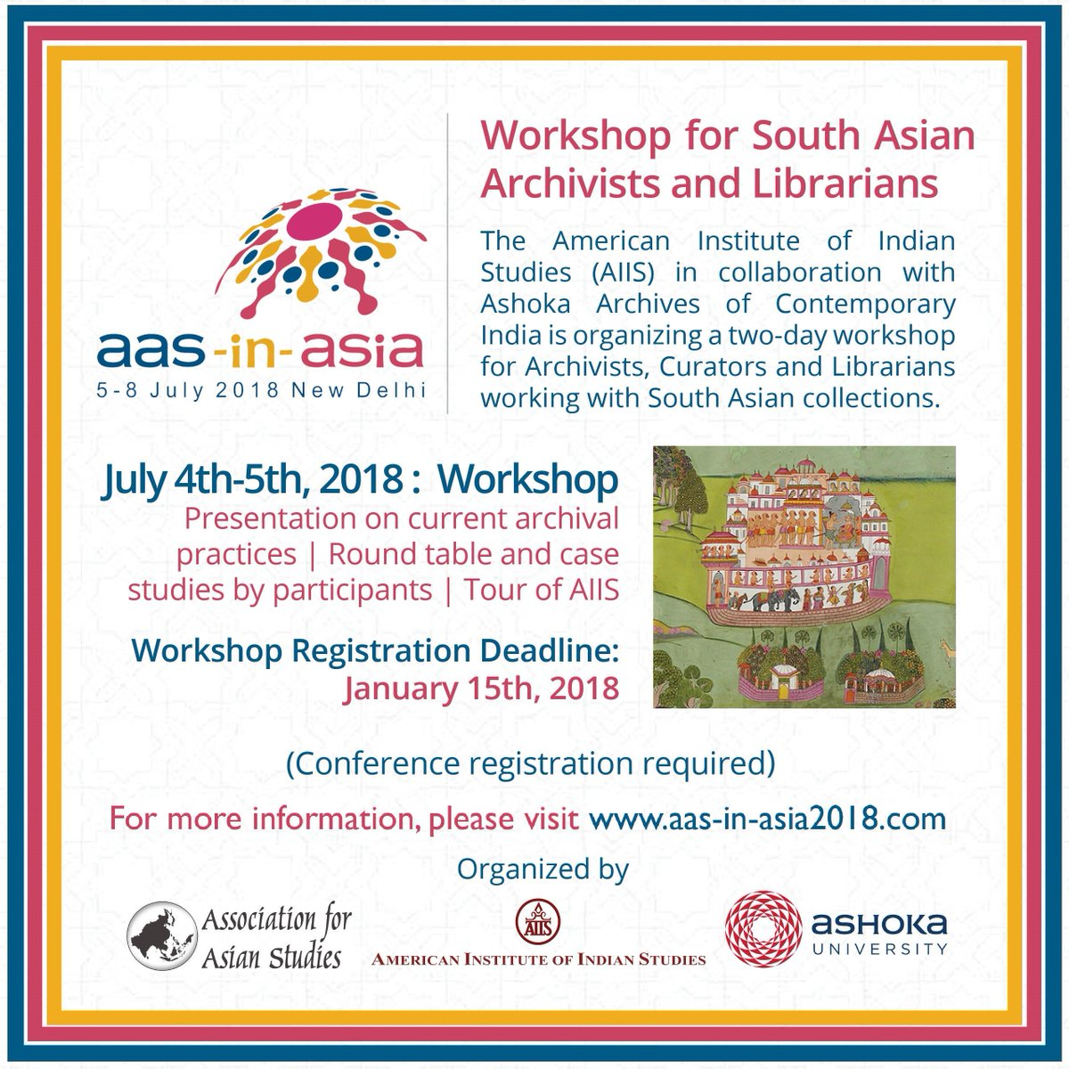 AAS-in-Asia 2018 on Twitter: