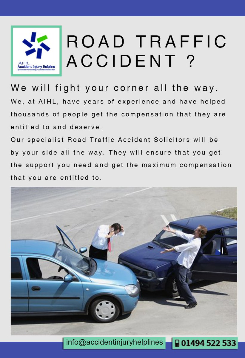 Specialist Road Traffic Accident Claims - 4TW