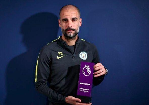 🔴 OFFICIEL ! Pep Guardiola est élu meilleur entraîneur de Premier League pour le 4e mois consécutif ! Un record ! 😳👏  🏆 Septembre  🏆 Octobre 🏆 Novembre 🏆 Décembre