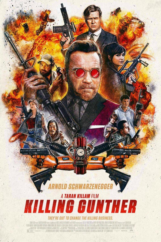 殺し屋達が『シュワルツェネッガーを殺す』という超難関ミッションに挑む映画『キリングガンサー』、早く日…