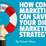 How Content Marketing Can Save Your Digital Marketing Strategy https://t.co/5aMIQCCb7p