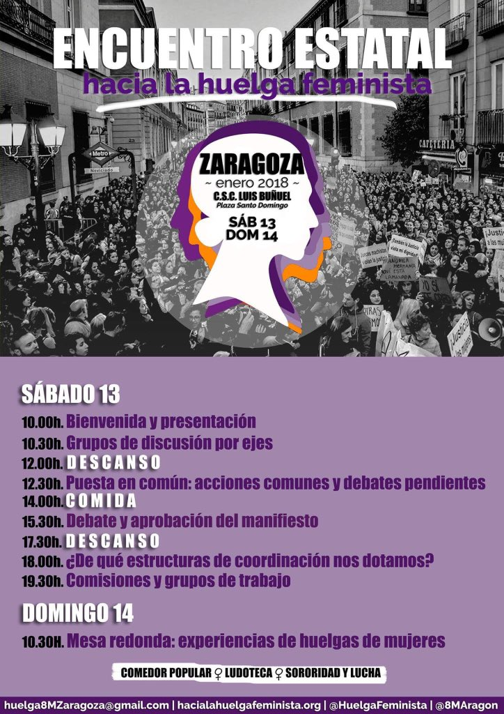 Feminismos Madrid On Twitter Este Fin De Semana Nos Vamos A