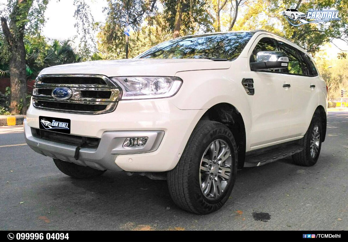 The Car Mall On Twitter Ford Endeavour Model 2017 Driven 5500 Km