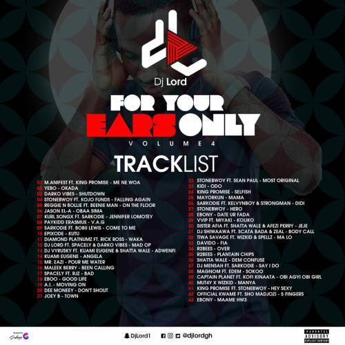 #KubiLive Listen: DJ Lord – 4 Your Ears...