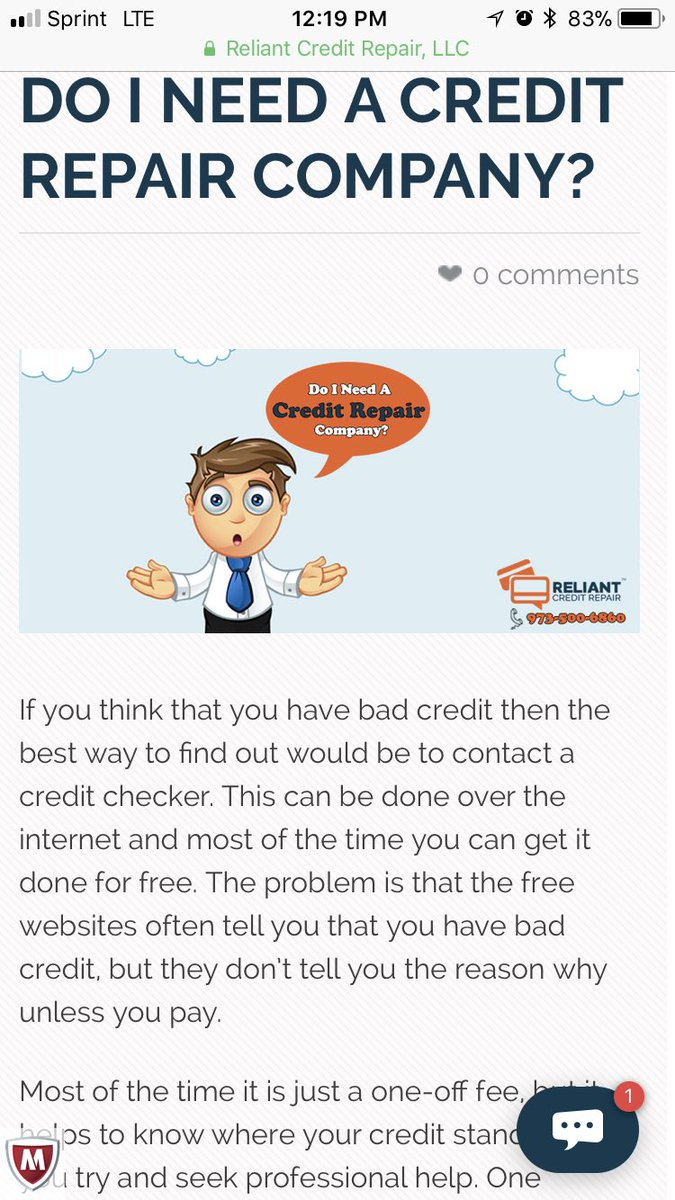 We know a thing or two about credit repair.