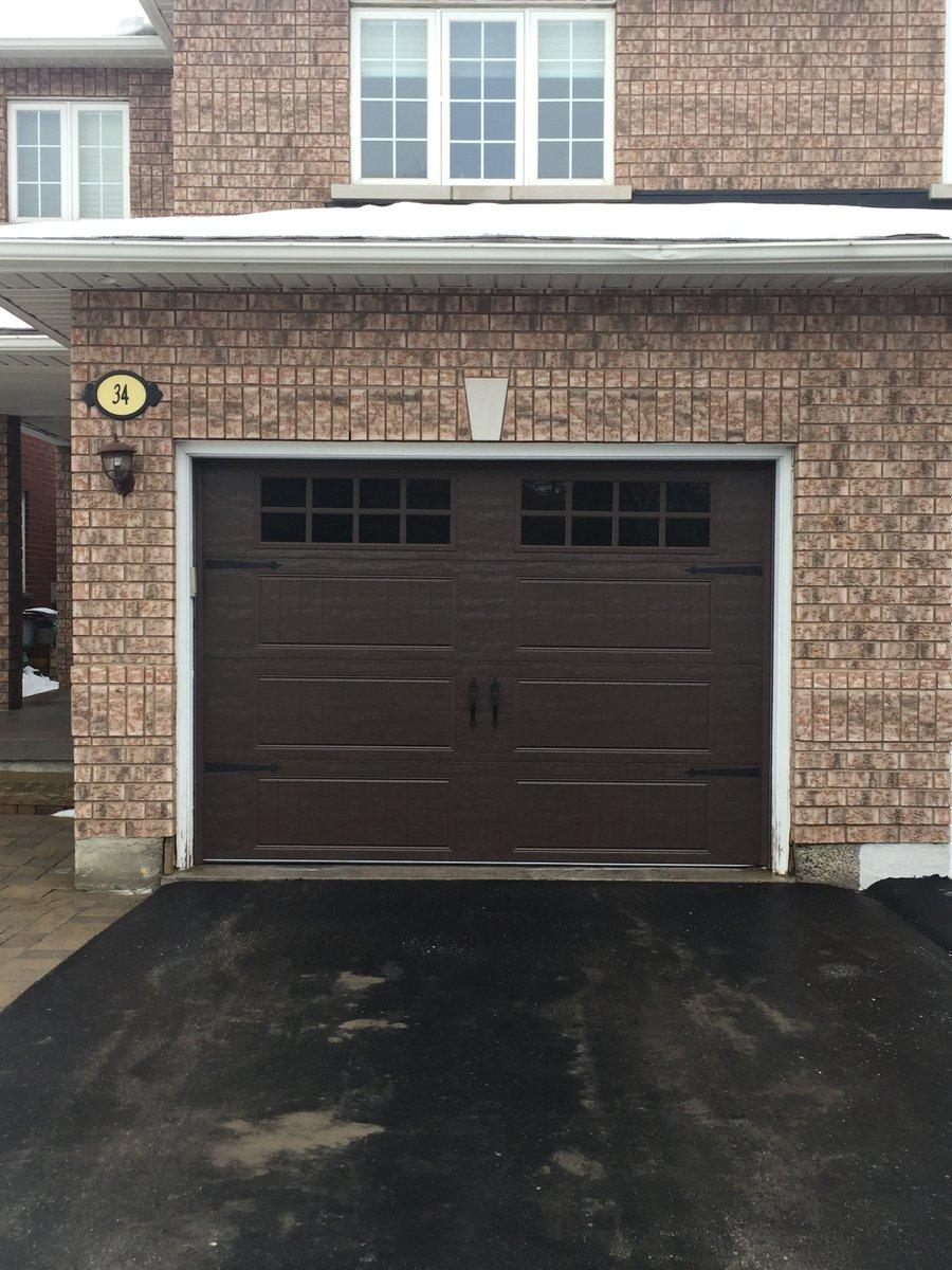 Clopay garage doors clopay twitter for 10x7 garage door