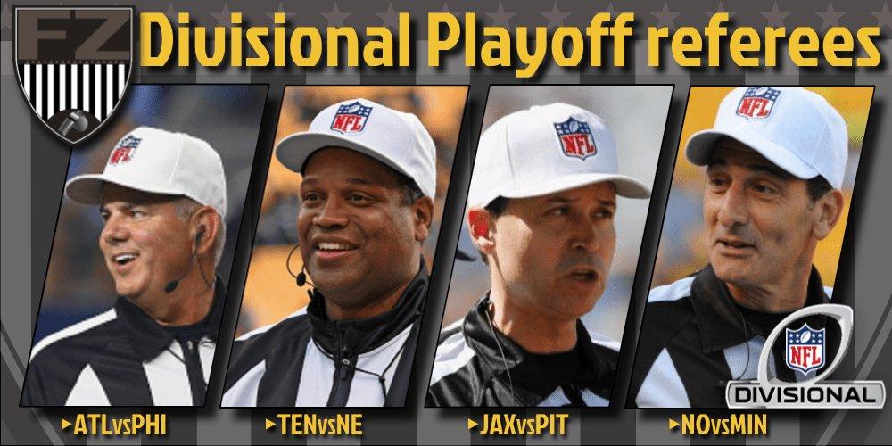 RT @huddlemag: [NFL] Divisional: le crew arbitrali - https://t.co/Vq3BHRLDrt...