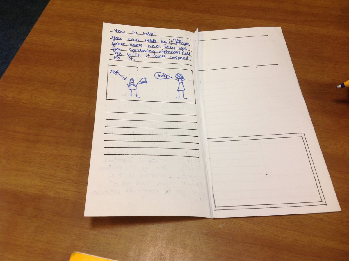 test Twitter Media - This week we are writing leaflets teaching children how to communicate with people who have dementia #gorseypshe #gorseyenglish https://t.co/MZAy41XwOz