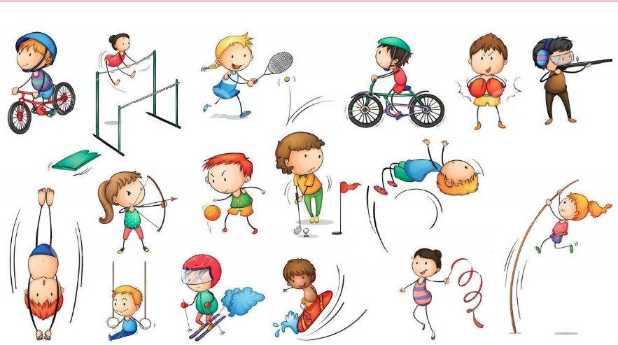 Днем рождения, прикольные рисунки о спорте детям