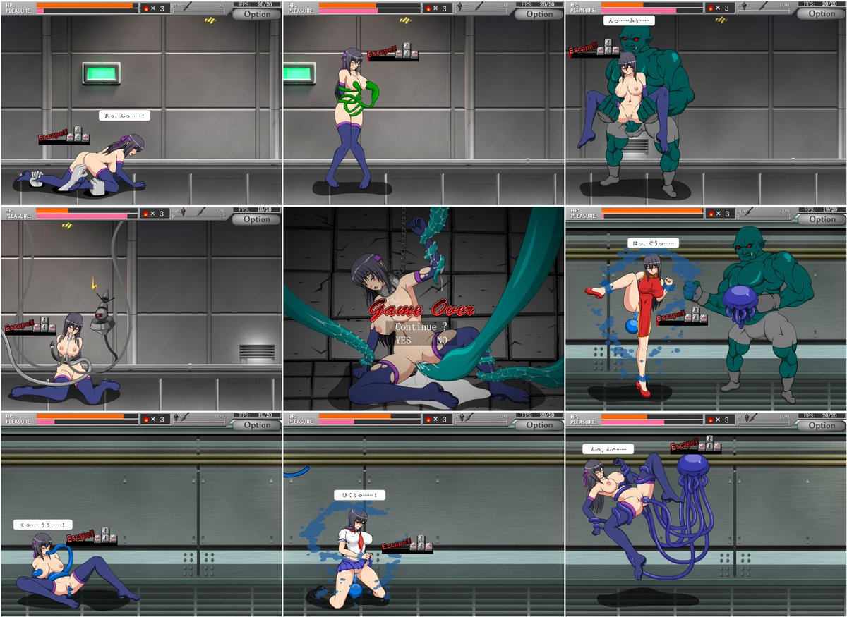 "Game Hentai Flash hentai stuff on twitter: ""shinobi girl - flash game play"