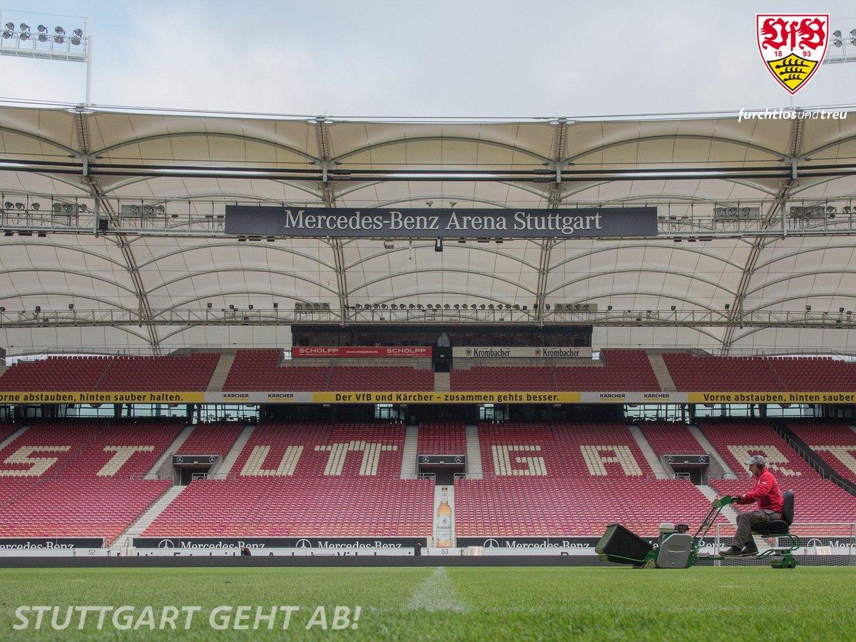 Feinschliff!   Noch  Stunden bis #VfBBSC!   #stuttgartgehtab #VfB<br>http://pic.twitter.com/SeuvM53V1l