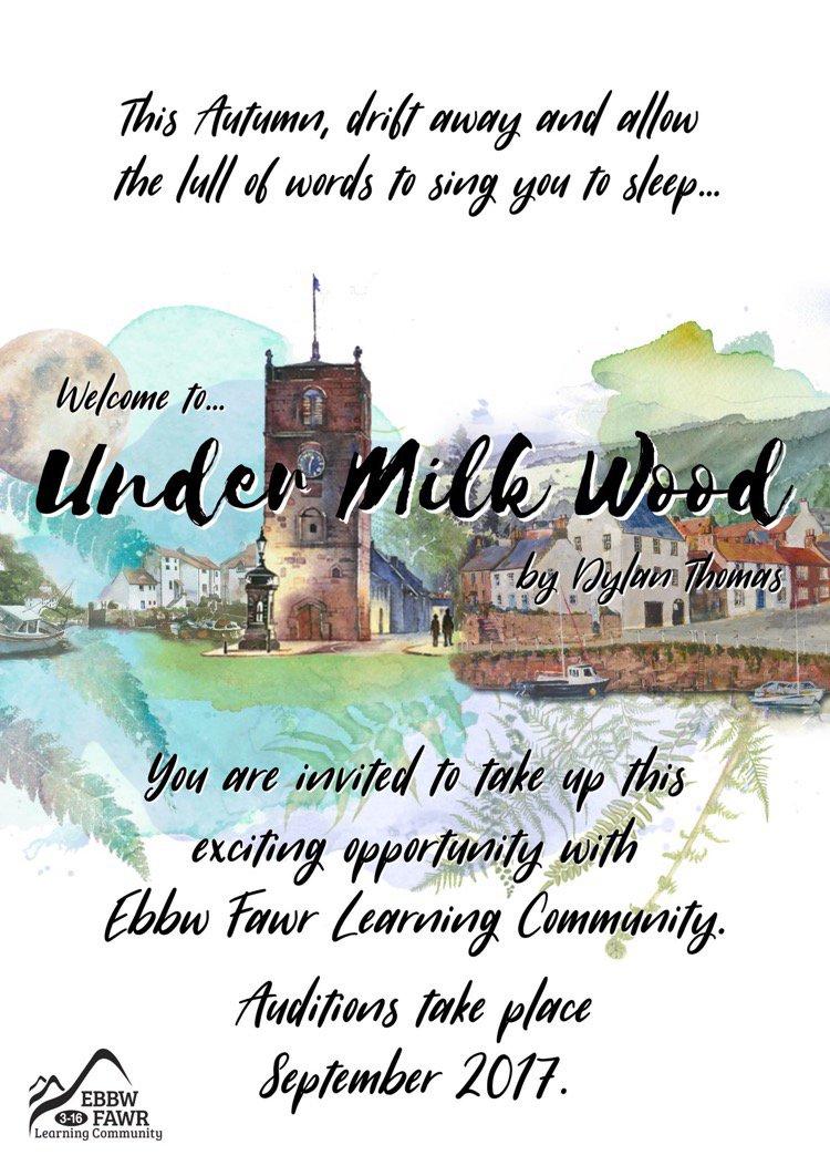 Ebbw Fawr 3 16 On Twitter Under Milk Wood Rehearsal This Sunday 14