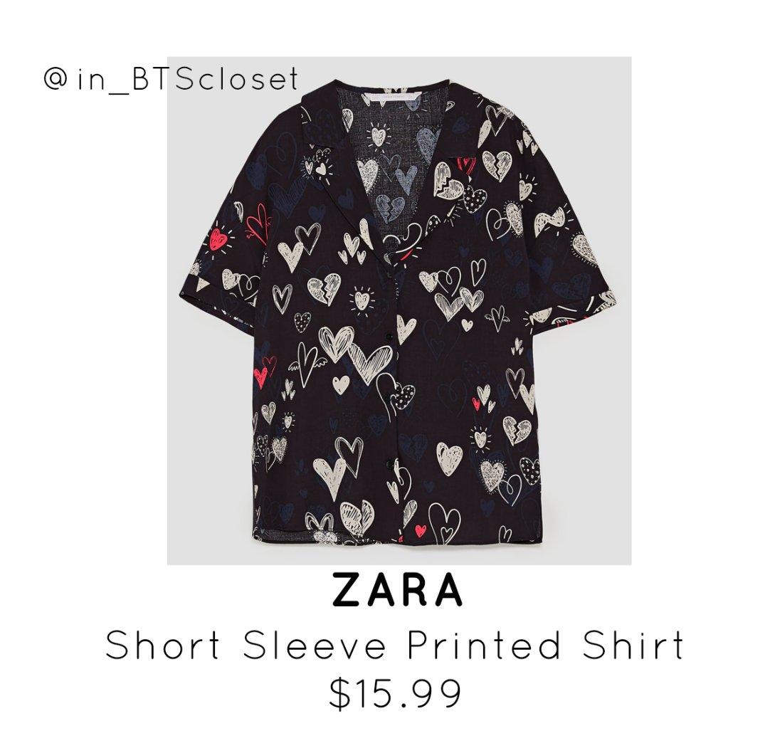 Zara Printed T Shirt Bcd Tofu House
