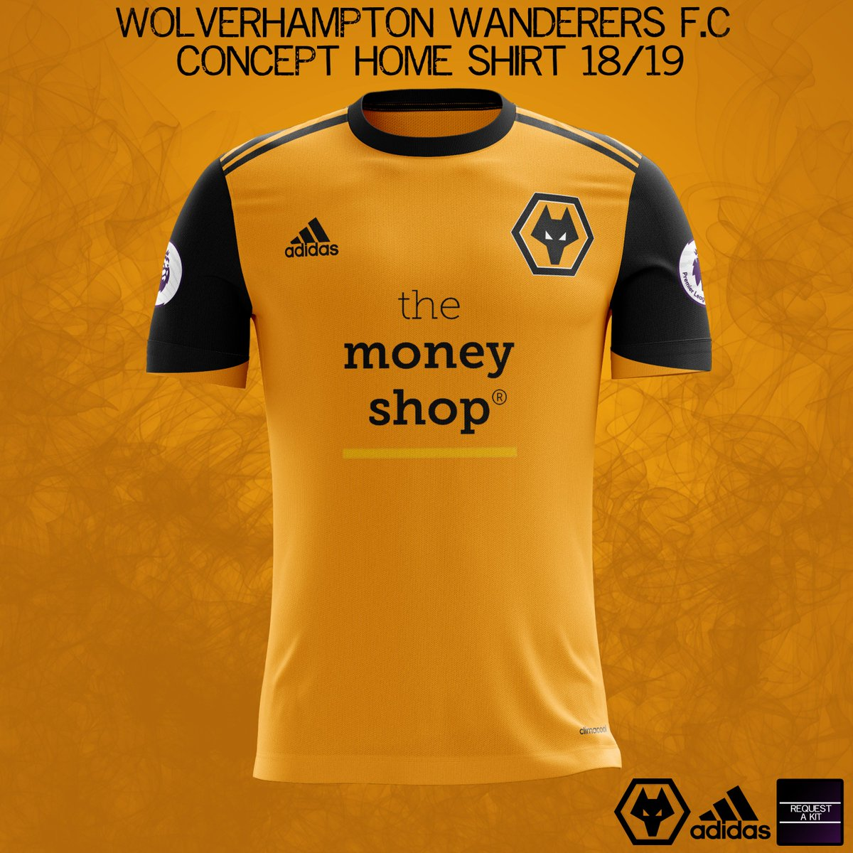 612d428e1 Wolverhampton Wanderers F.C Concept Home and Away Shirts 2018-19 (requested  by  LuckyHookey)  wwfcpic.twitter.com lEH0l1g9QC