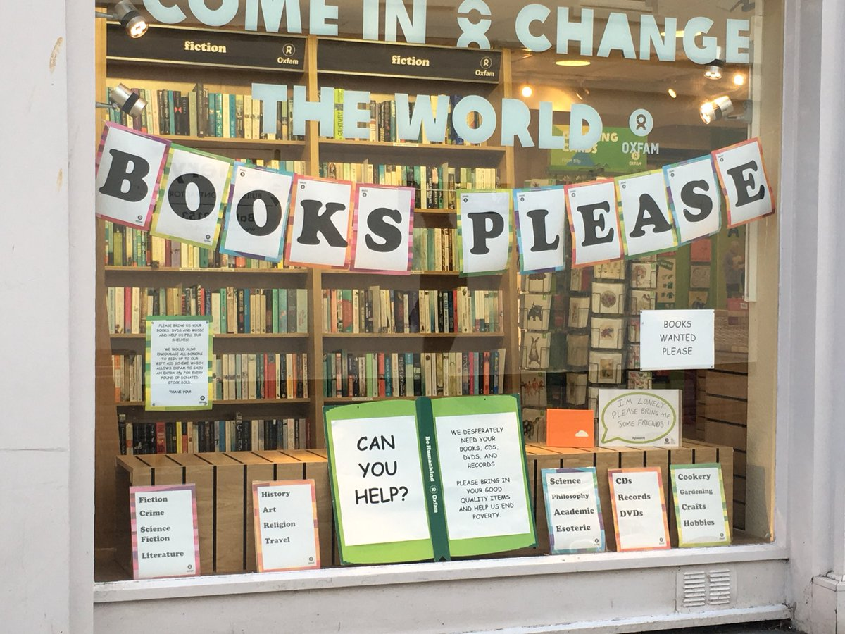Oxfam Bath Bookshop On Twitter Books Wanted Please Donate