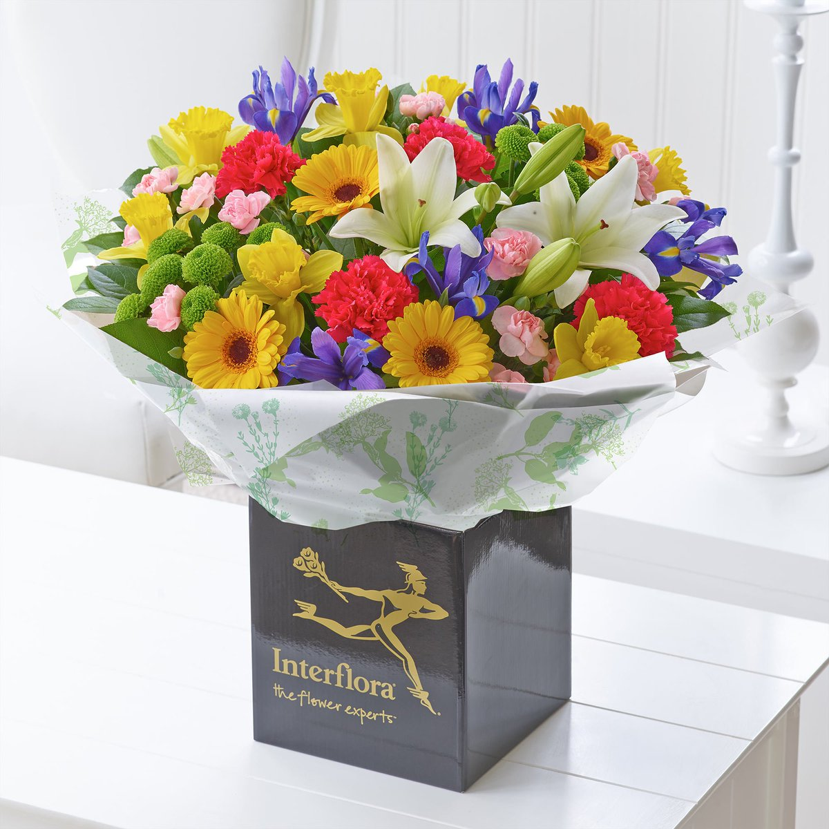 Interflora on twitter our bouquet of the month is full of the joys interflora on twitter our bouquet of the month is full of the joys of spring rt if youd love to open your door to this delivery mightylinksfo