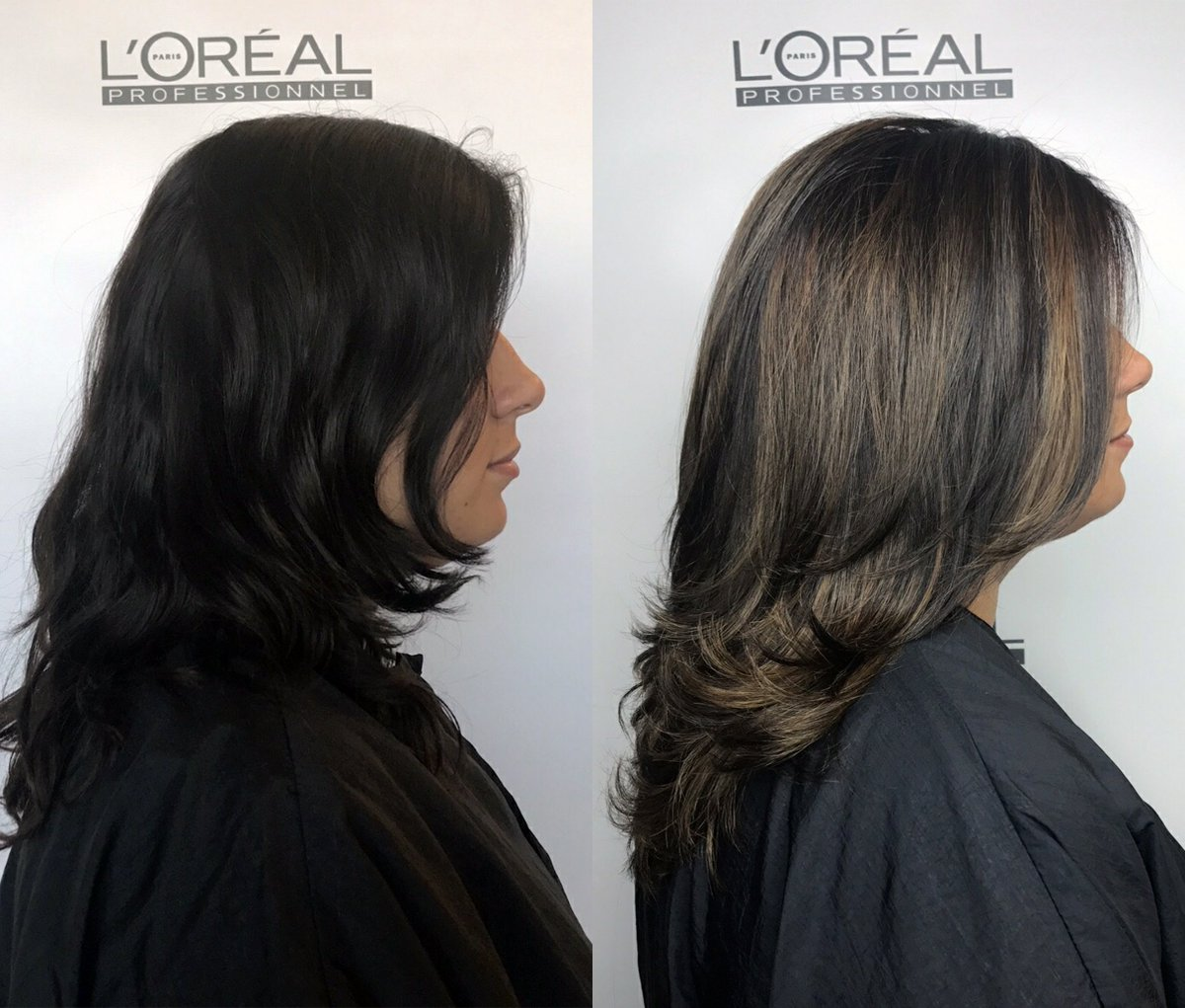 Gray Highlights On Dark Brown Hair T