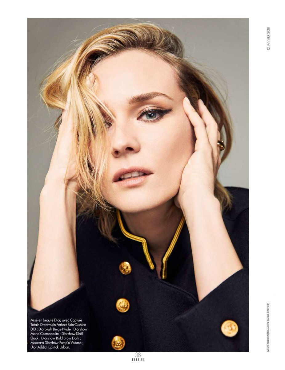 cb32d9470 Diane Kruger for Elle France - 12th January 2018  editorial  DianeKrugerpic. twitter.com PVS2NTzP5b