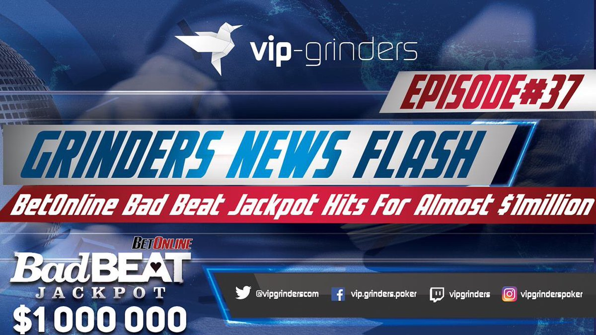 Check out Grinders Weekly News Flash Ep.37   Latest Poker News from around the globe!    https://www. youtube.com/watch?v=UhqCuE M2Ze4 &nbsp; …   #poker #pokernews #onlinepoker #pokergrind <br>http://pic.twitter.com/ckCLvUnUED