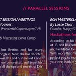 "Which parallel session will you choose? Register now for #ECMReykjavik18 ""How to morph your DMO business model and engage the city"" #MeetShareGrow https://t.co/ggABiMnYM2 #WeAreECM"